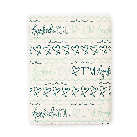 I'm Hooked on You Gift Wrap Roll