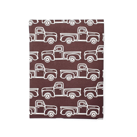 Maroon Trucks Gift Wrap Roll
