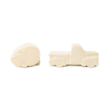Vintage Truck & Camper Salt and Pepper Set