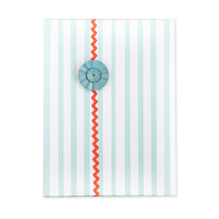 Stripes blue Gift Wrap Roll