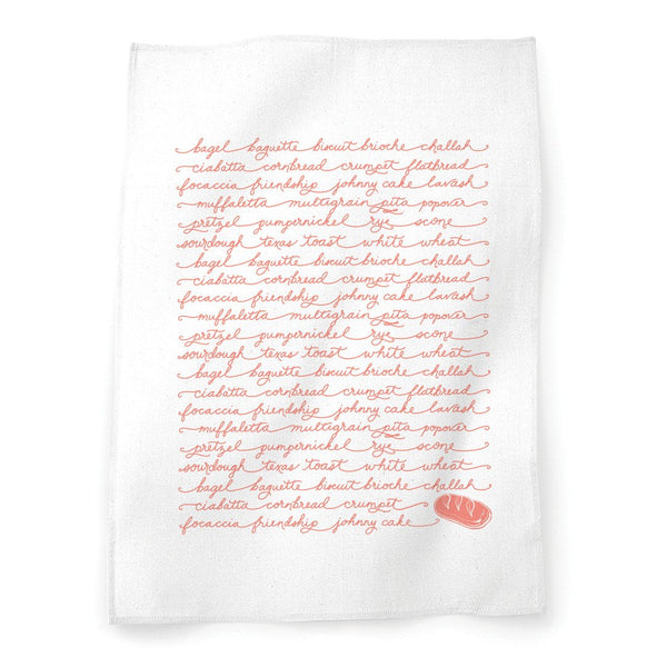 Breads Tea Towel