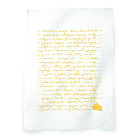 Cheeses Tea Towel
