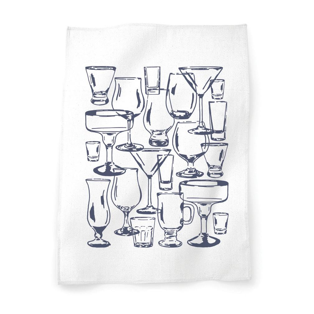 Cocktail Glasses tea towel