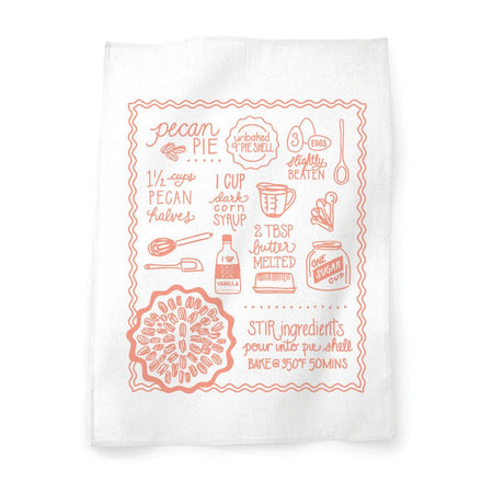 Pecan Pie Tea Towel
