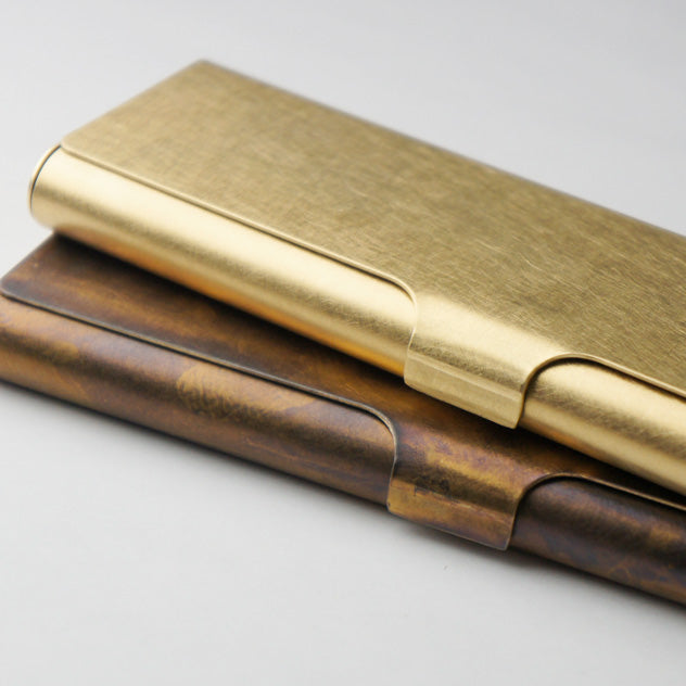 Picus Brass Pen Case