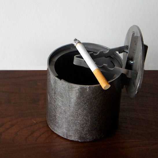 GoodyGrams Unite Ashtray Cylindrical Steel Ashtray