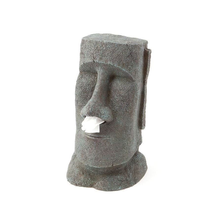 Stonehead Easter Island  Stone Face Big Maoi Tissue Dispenser