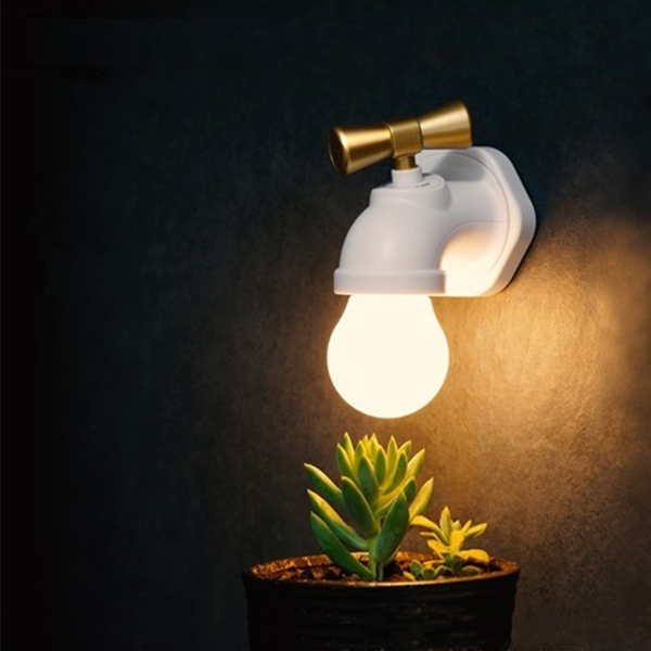 JANPIM Tap LED Night Light Bulb Lamp