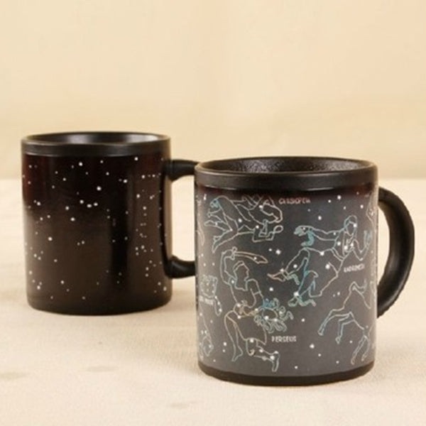 Solar System Color Changing Mug Magical Zodiac Signs