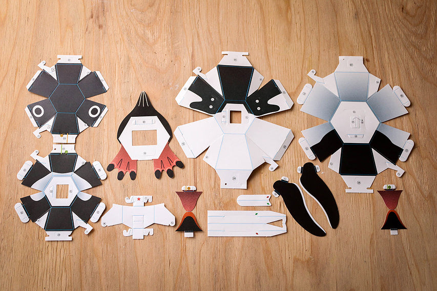 Kamikara Paper Craft Penguin bomb