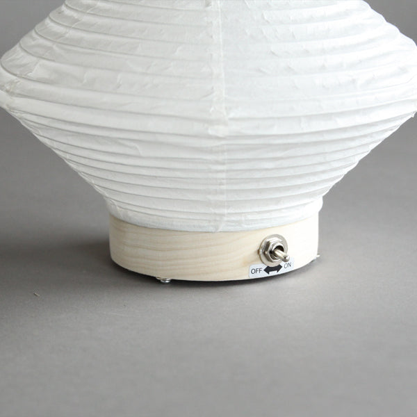 Fores Handmade Japanese Washi Paper Table LED Lantern Lamp - Hishi (Diamond)