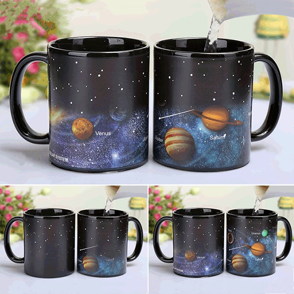 Solar System Color Changing Mug Magical Universe