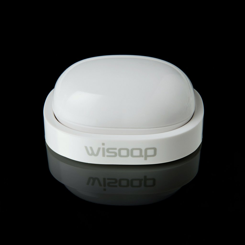 Wisoap Portable Travel Wireless Ultrasonic Wave Washer Machine