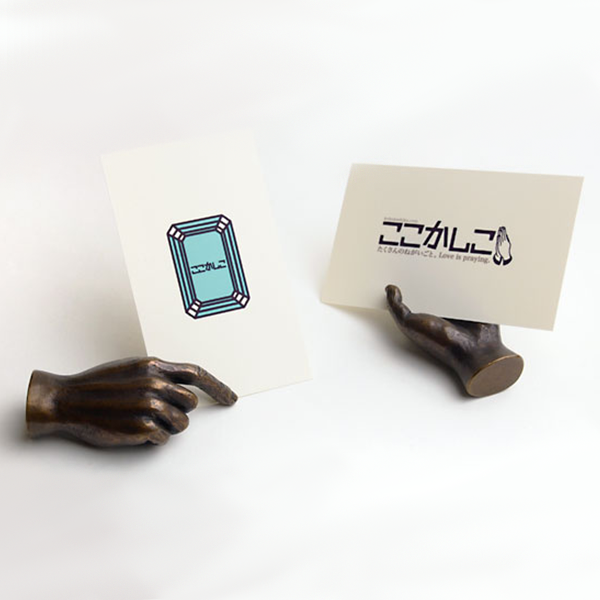Insou Buddha's Hand Shaped Postcard Stands