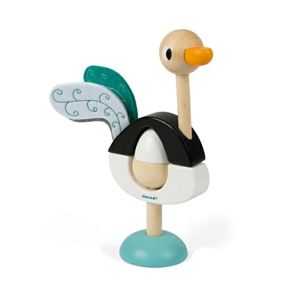 Jouroy stacker wood ostrich