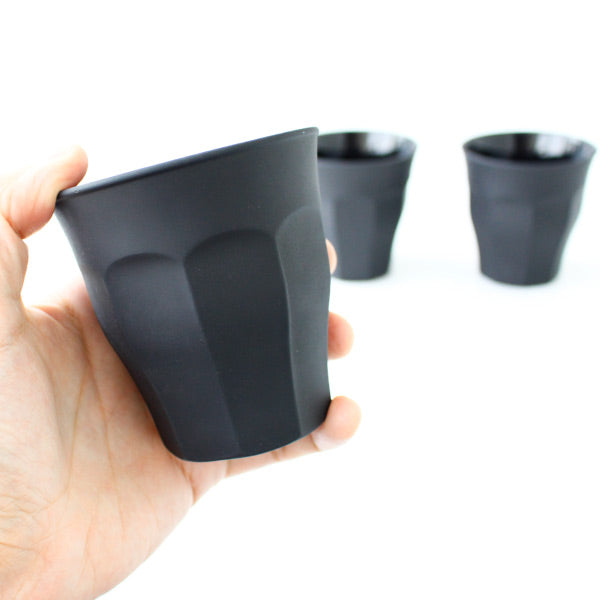 Soft Toe black coffee cup