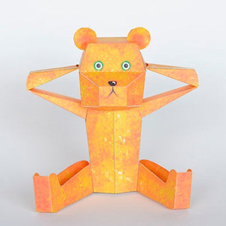 Kamikara Paper Craft Teddy Bear