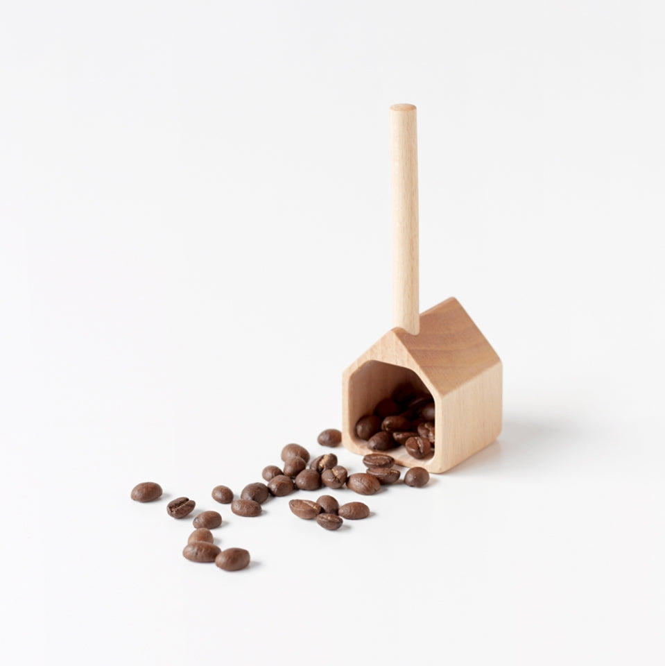 Torch Natural Wood Measure House Coffee Spoon