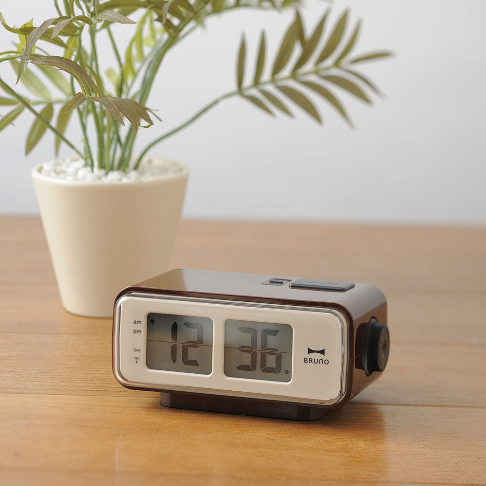 Bruno Retro Digital Alarm Clock
