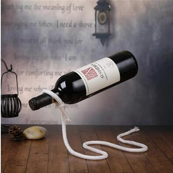 Wine Stand With A Cord