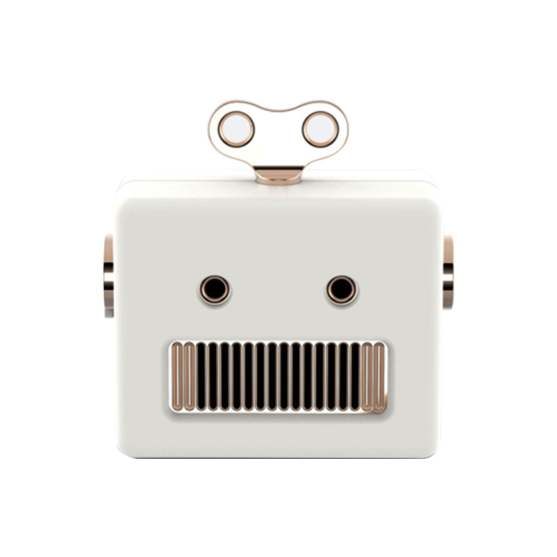 SAONGER Cute Robot Bluetooth Speaker