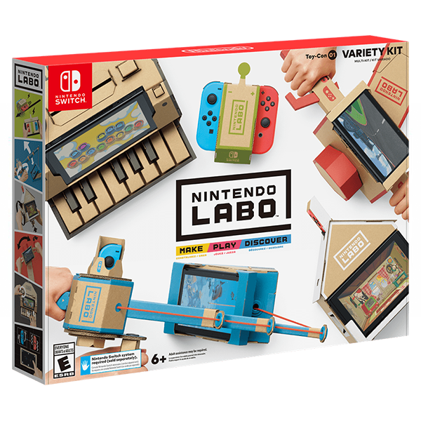 Switch Video Games Nintendo Labo Official Site Variety Kit&Robot Kit