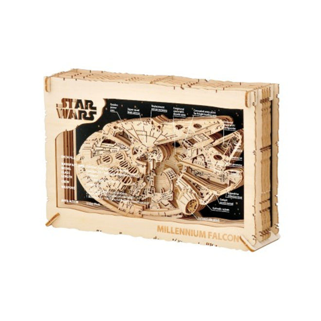 Ensky Star Wars Paper Theater Wooden Craft 3D