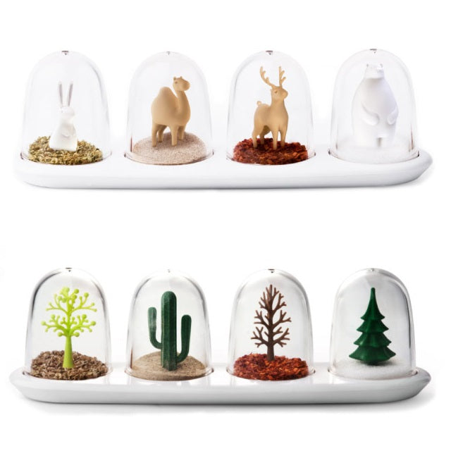 Qualy Cute Animals And Plant Spice Box