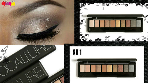 Focallure 10 Natural Colour Eye Shadow Palette