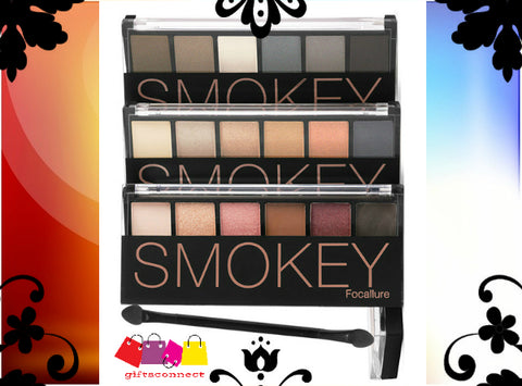 Focallure 6 Colour Smokey Eyeshadow Palette