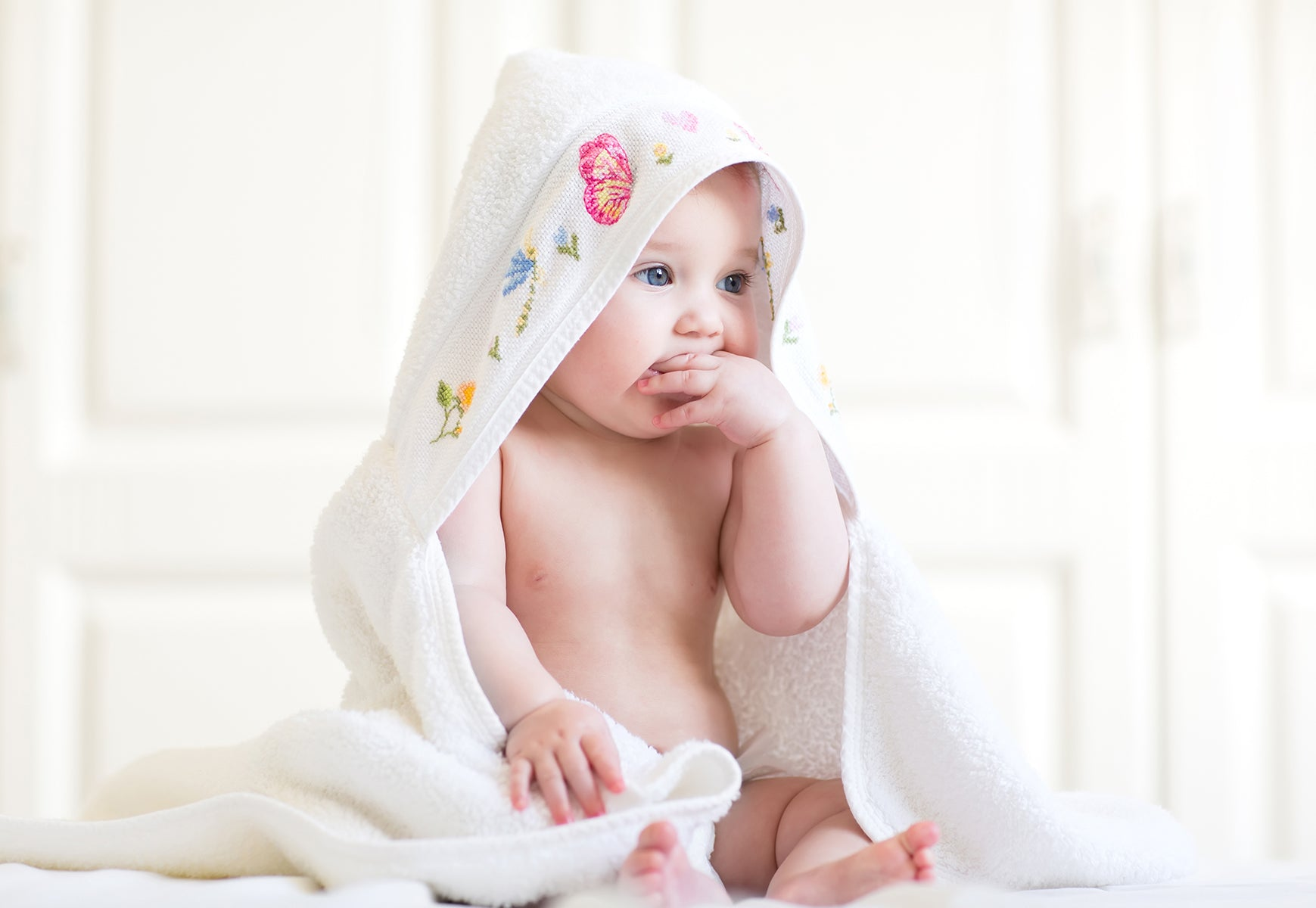 Bath Towels for infants and toddlers