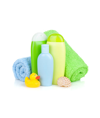 Gift Set of Towels & Shampoos