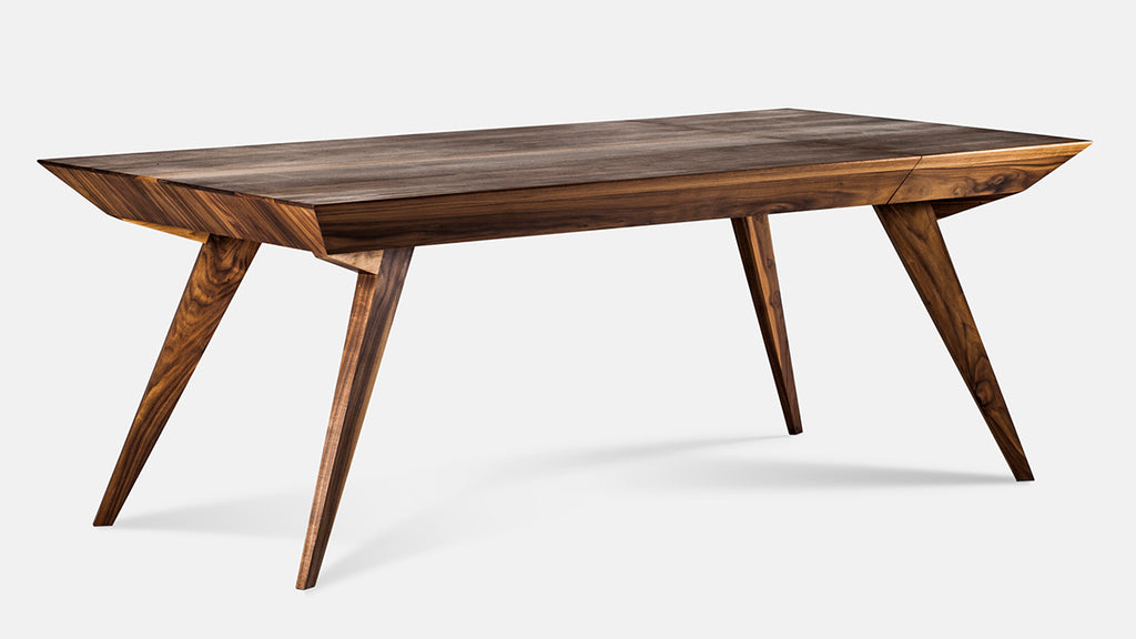ROLY-POLY - LUXURY TABLE - solid wood table, natural, walnut, wood, dining table, home, simple design, modern