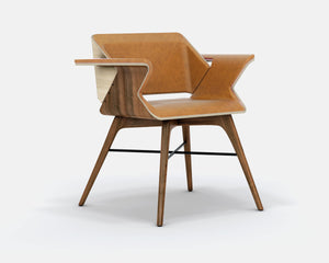NEST Wings | Luxury Wood Armchair - AROUNDtheTREE