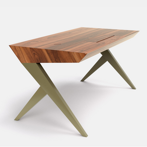 LOCUST Desk | Metal&Wood