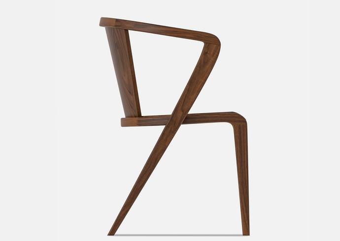Portuguese ROOTS Chair | All Wood | Award Winning Design