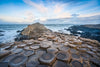 Hexagonal stone formations at Giant's Causeway in Northern Ireland. (Photo: Alan Dixon)