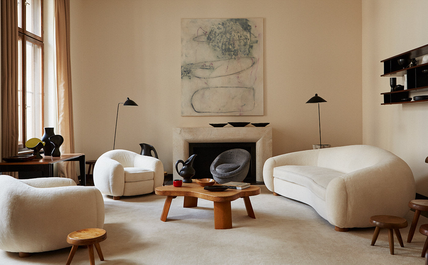 Curator Emmanuel de Bayser's Midcentury Residence. Photo: Pelle Crépin