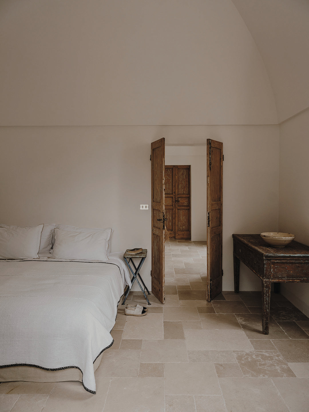 Masseria Moroseta by Andrew Trotter, photographed by Salva Lopez