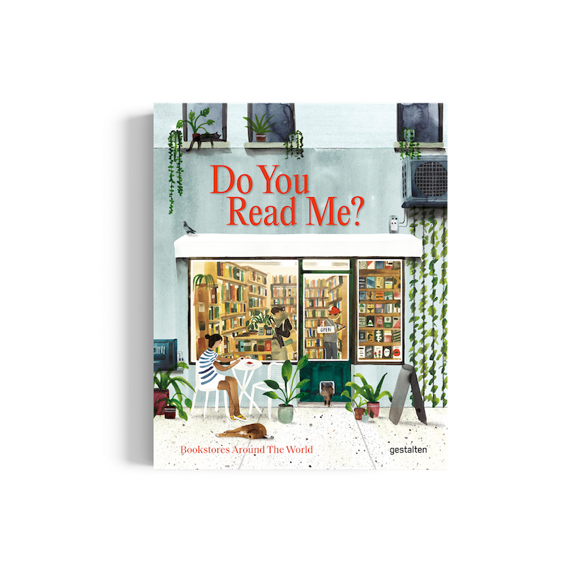 Do You Read Me? explores book stores and culture, published by gestalten