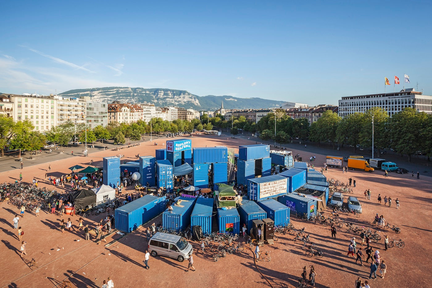 Containers: From The Docks To An Architectural Spectacle