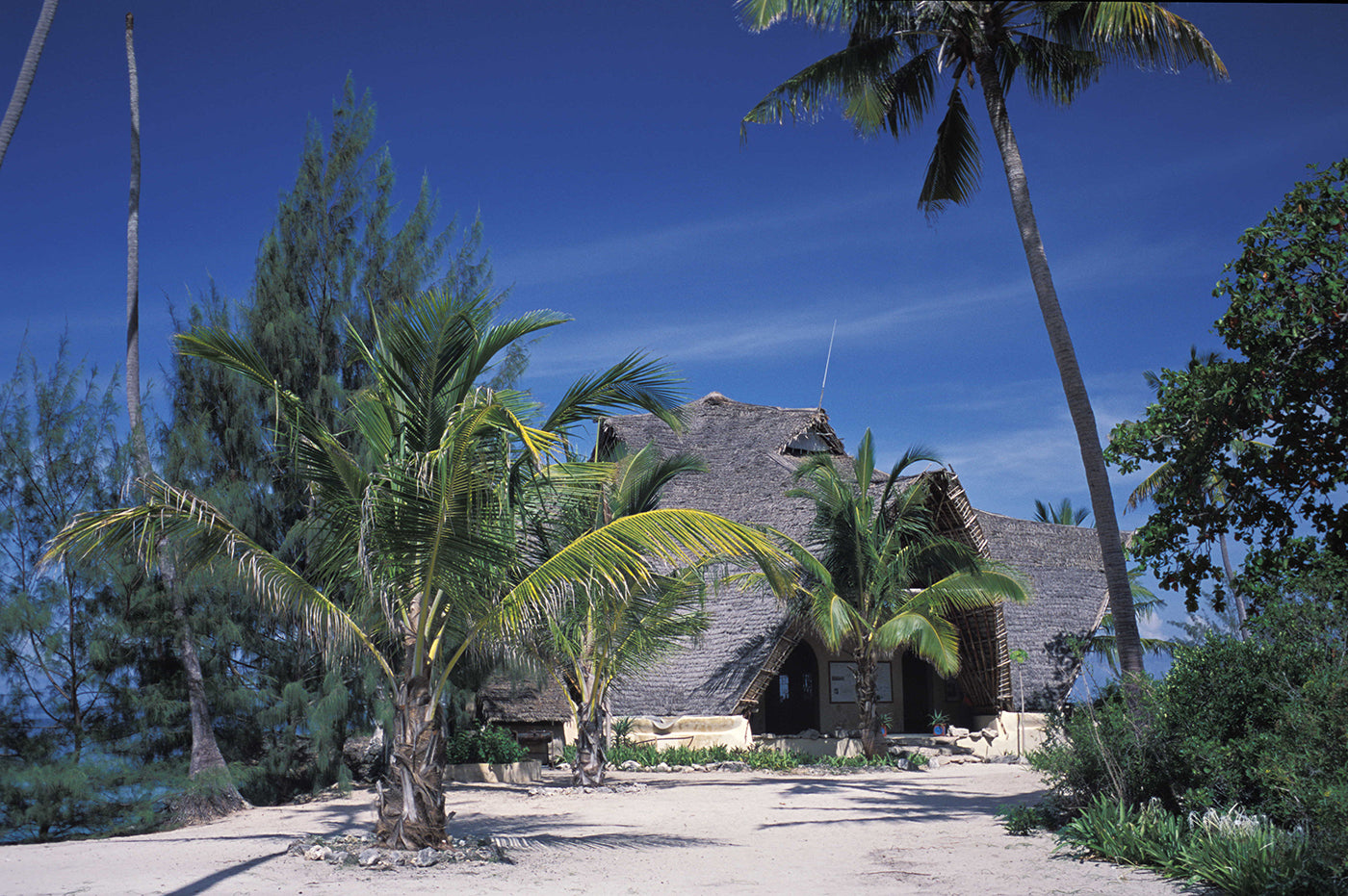 Education centre at Chumbe Island. Photo by Chumbe Island