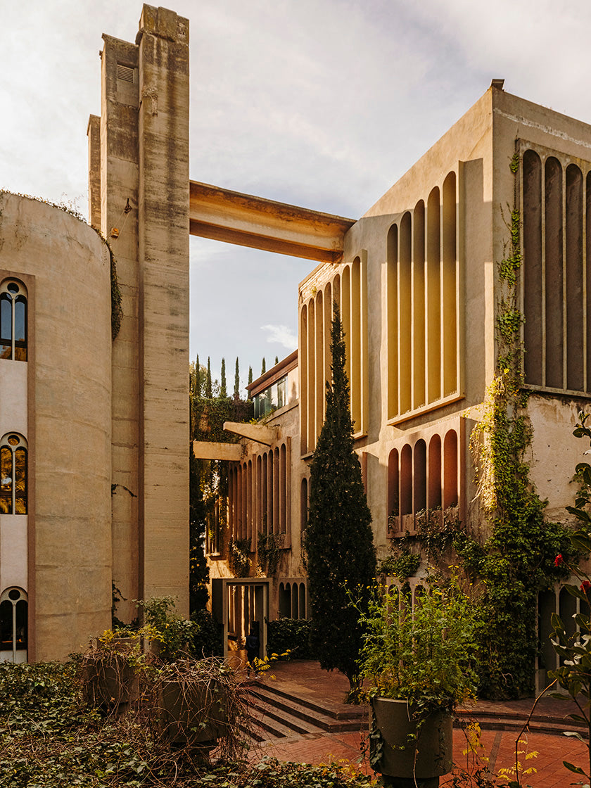 Inside Ricardo Bofill's Fortress and Muse Cement Factory