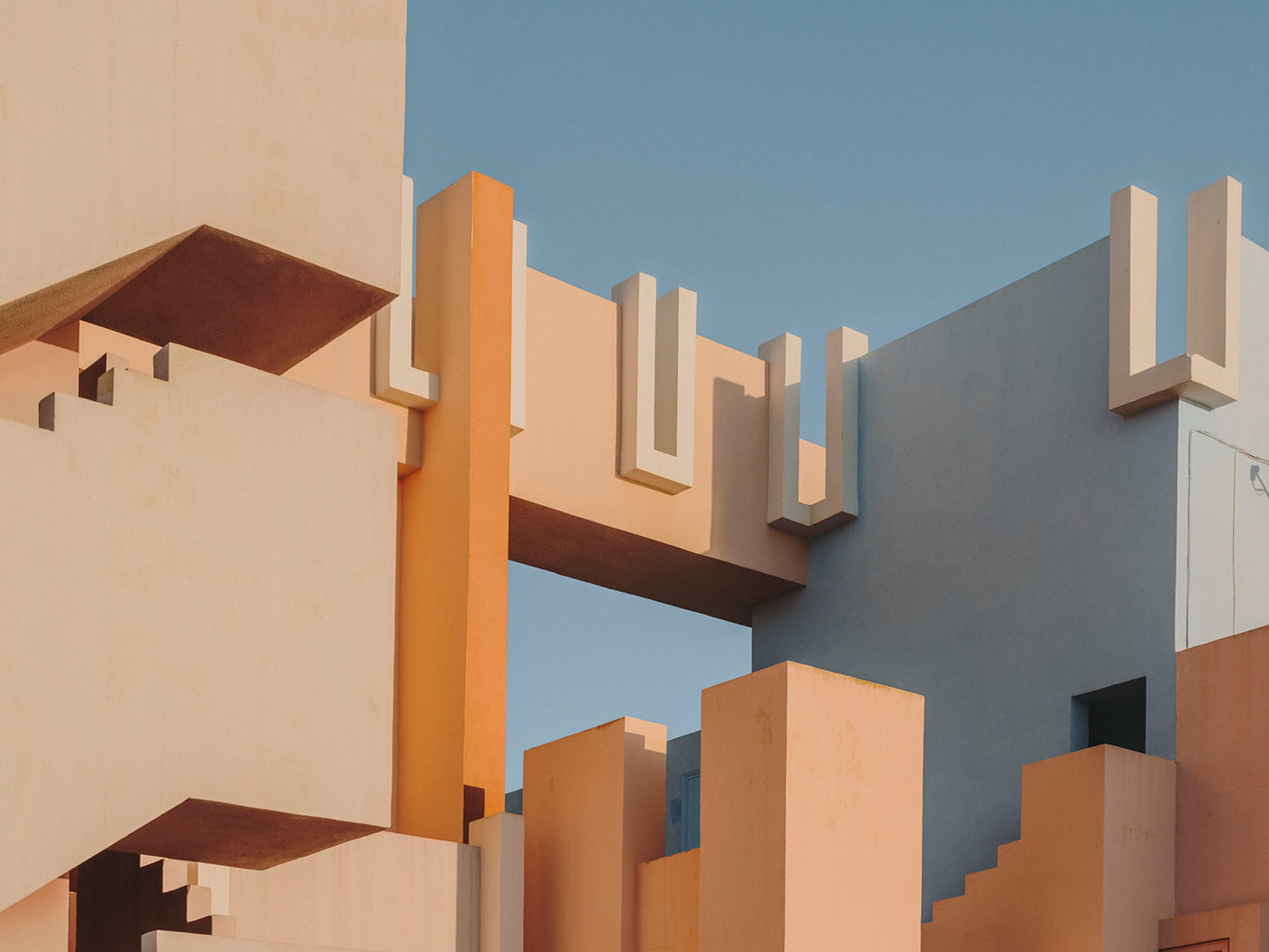 Muralla Roja from Brutalist Romance In The Mediterranean With Photographer Salva López