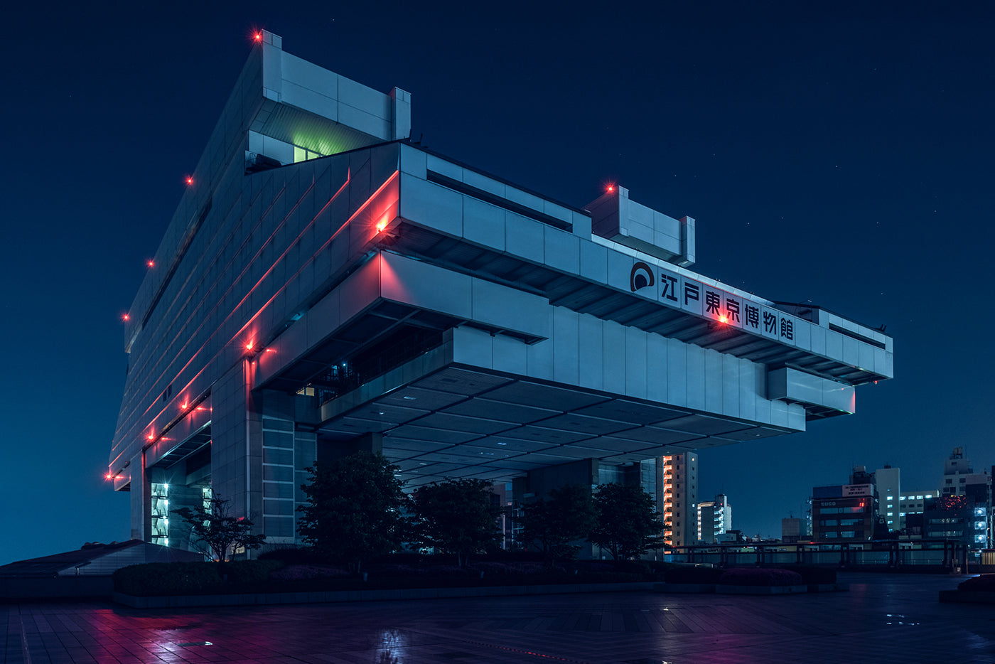 The Edo-Tokyo Museum could pass as a sinister HQ for a faceless bad guy in this series. (Photo: Tom Blachford)
