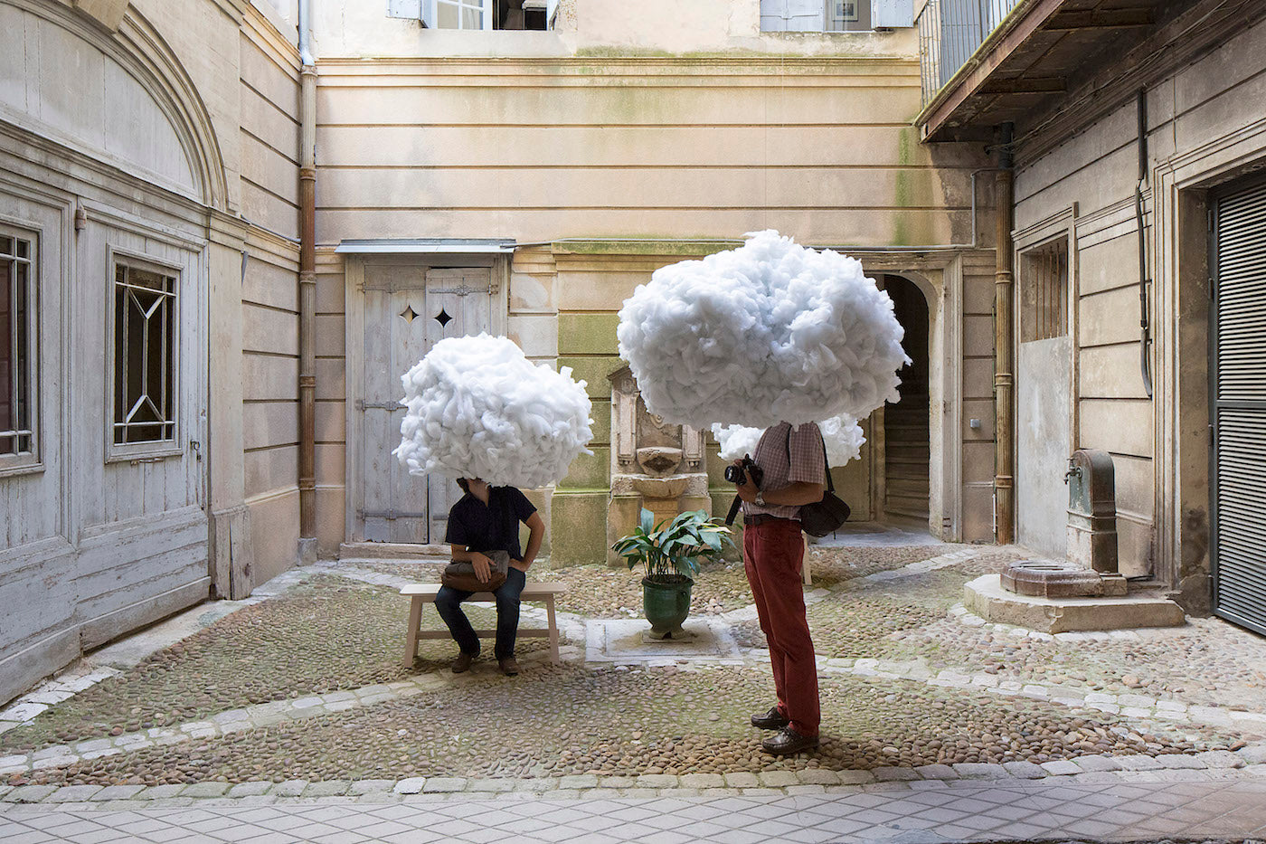 Head in the Clouds Installation
