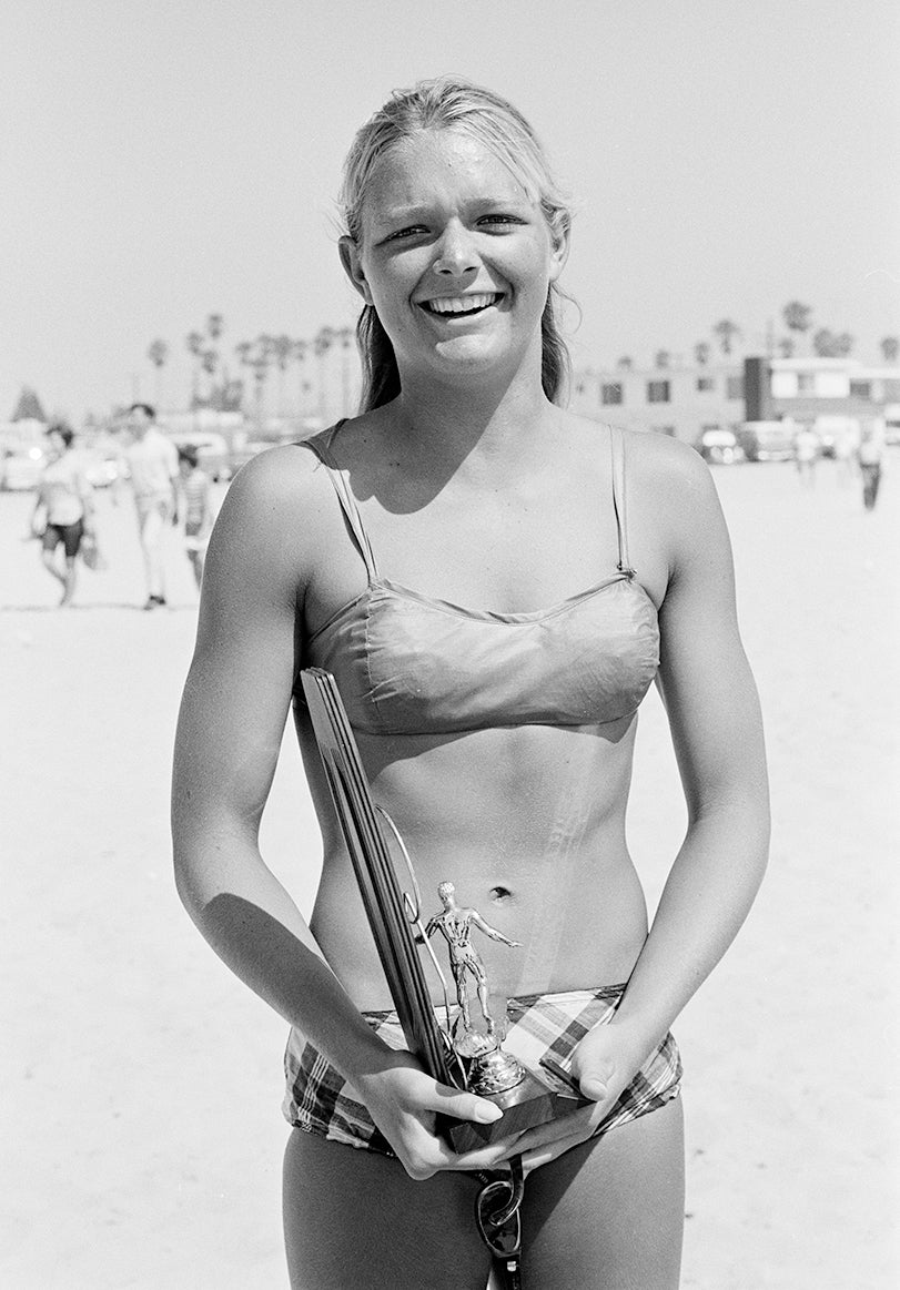 World champion Joyce Hoffman graced the cover of Life and the pages of Vogue as one of surfing's early stars. (Photo: Ron Church, She Surf)