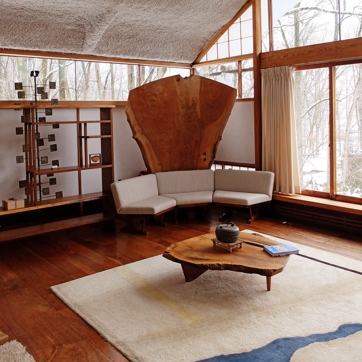 George Nakashima's Home Is a Timeless Relic To Modernism, photo by Adam Štěch
