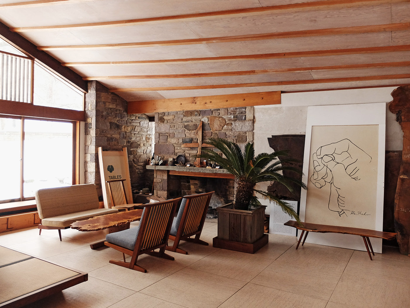 George Nakashima's Home Is a Timeless Relic To Modernism