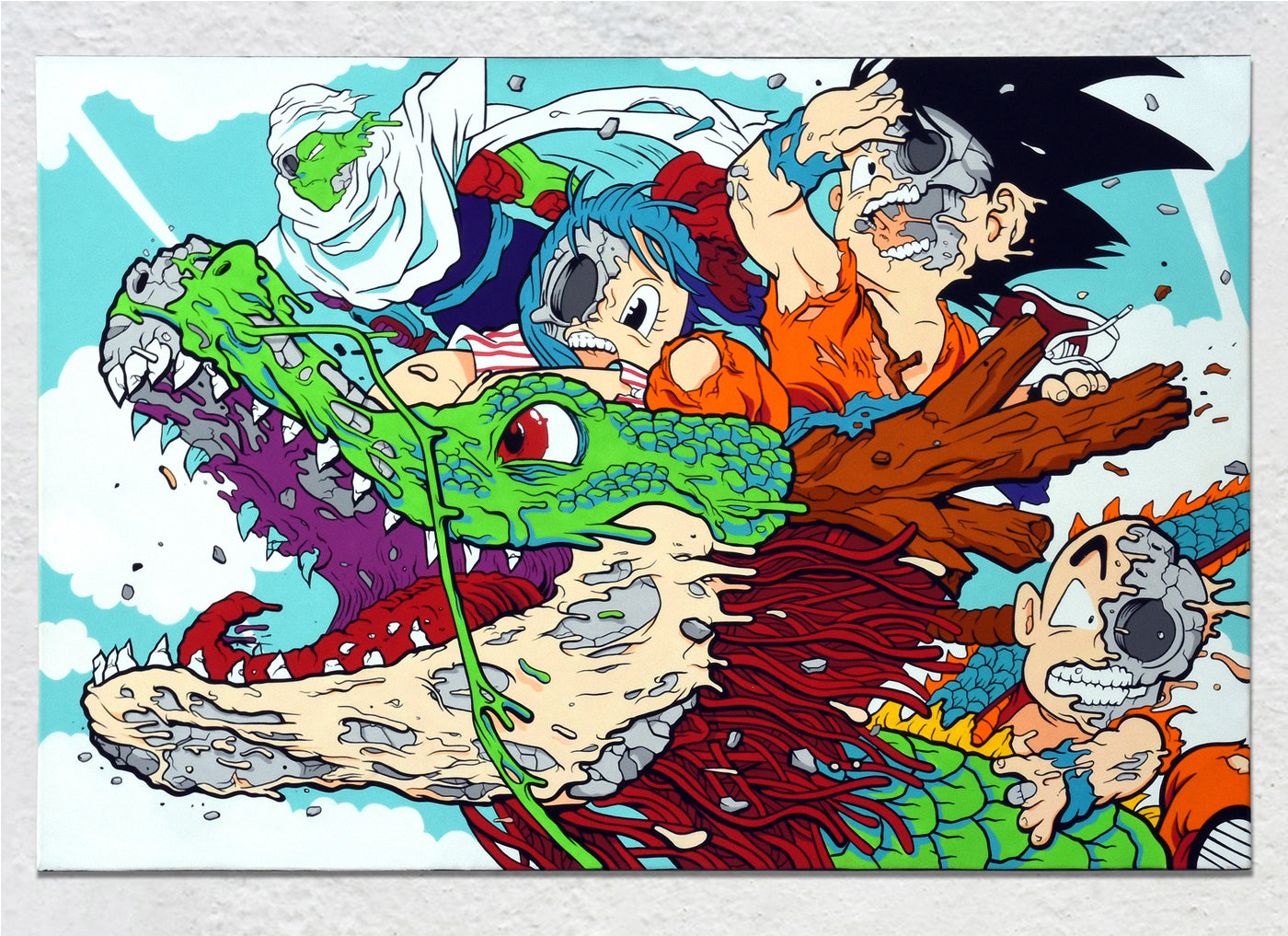 Dragonball deconstructed by Matt Gondek